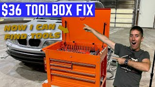 This Is The BEST $36 You Can Spend ORGANIZING Your TOOLBOX