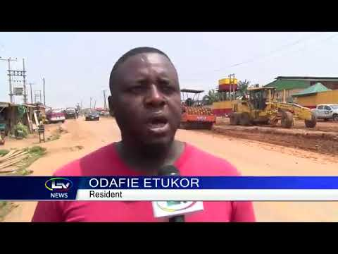 Agric-Isawo Road Update