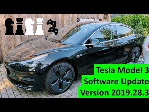 tesla-model-3-software-update-version-2019.28.3---schach,-multiplayer-spiele-update-und-mehr