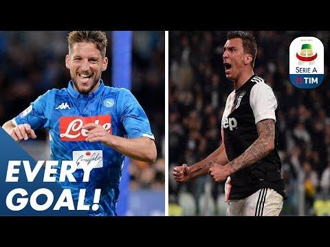 Mertens' bullet header & Mandžukić's tight angled finish | EVERY Goal | Serie A