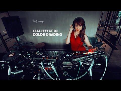 Teal and Green Color Grading Photoshop Tutorial | DJ Fahion Photos thumbnail