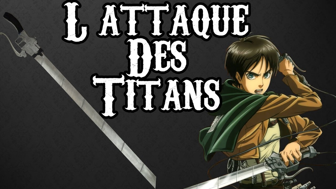 L'ATTAQUE DES TITANS - EPEE (Cosplay) - YouTube