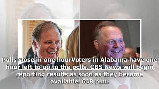 Live results: alabama senate race and exit polls - voting polls closed