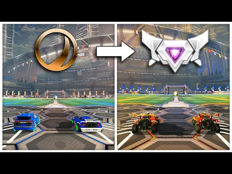 I 2v2'd Every Rank in Rocket League: Which is the best?