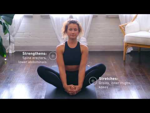 How to do a butterfly stretch
