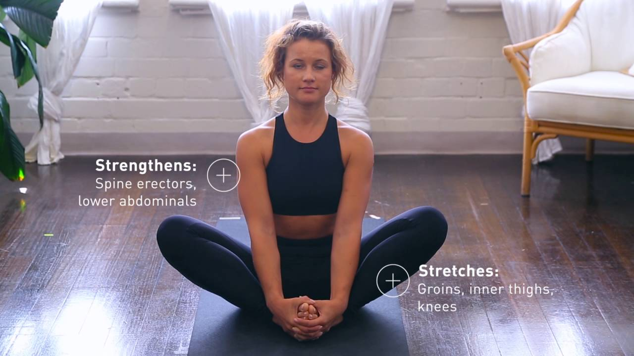 pictures How to Do the Butterfly Inner Thigh Stretch