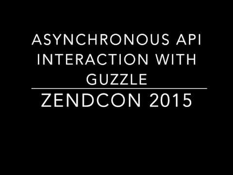 Asynchronous API Interaction with Guzzle Session