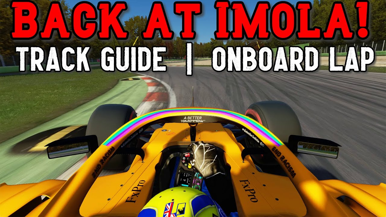 SimRacing604: Formula 1 Returns to Imola!