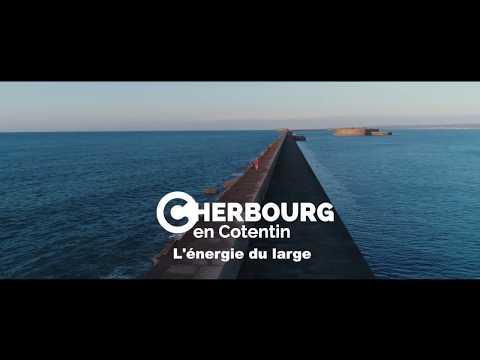 Cherbourg en Cotentin l'énergie du large