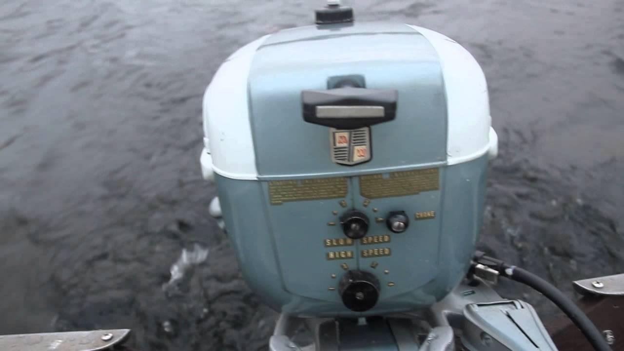 1957 Sea King 5 Hp Outboard Motor