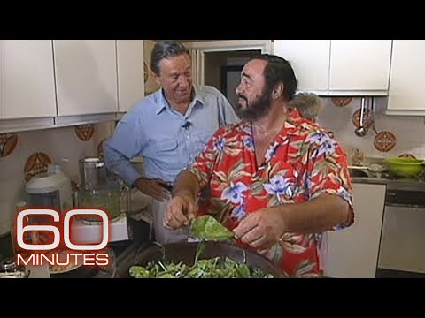 From The Archives: At Home With Pavarotti