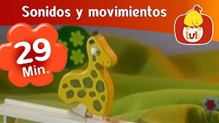 Sonidos y movimientos - Capítulo especial de media hora  | Cartoon para Niños - Luli TV thumbnail