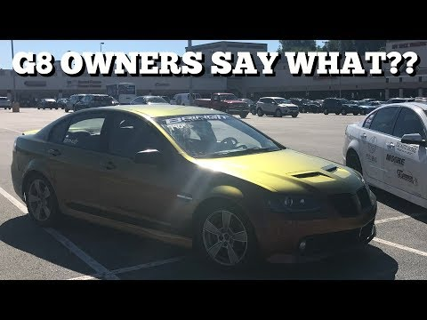 STUFF G8 OWNERS SAY