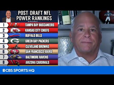 Post-Draft NFL Power Rankings: Bucs at No. 1, Browns at No. 5, 49ers at No. 6 | CBS Sports HQ