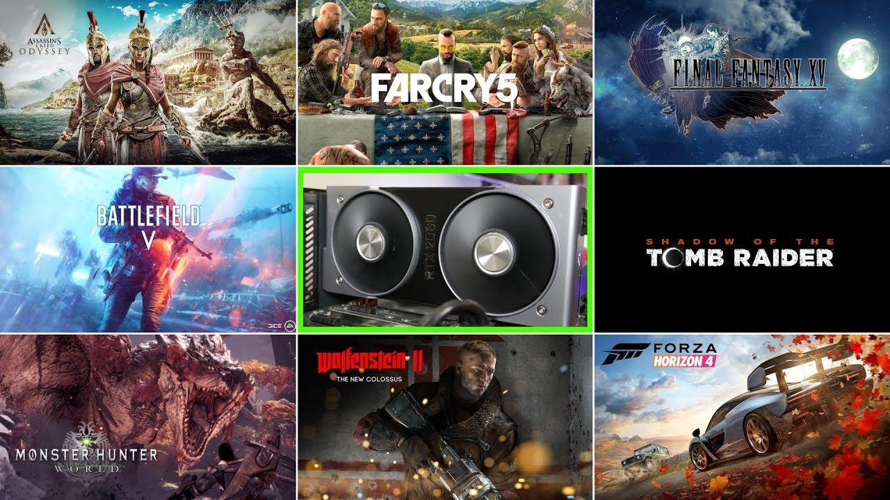 GeForce RTX 2060 1080P Real World Gameplay Performance