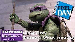 NECA Toys Product Walkthrough at Toy Fair 2016