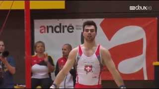 Oliver Hegi High Bar - Mémorial Gander 2015