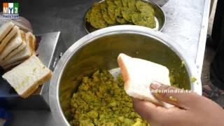 BREAD CUTLET RECIPE MAKING   EASY BREAD RECIPES   STREET FOOD street food