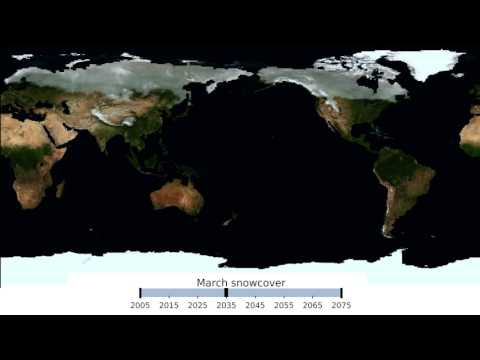 How long will we be skiing in Colorado? - Global snow cover, 2005-2080
