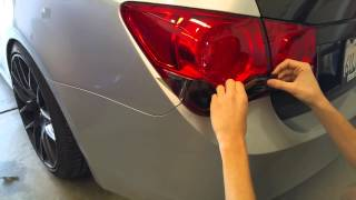 Chevy Cruze Tail Light Overlay Installation Diy Video