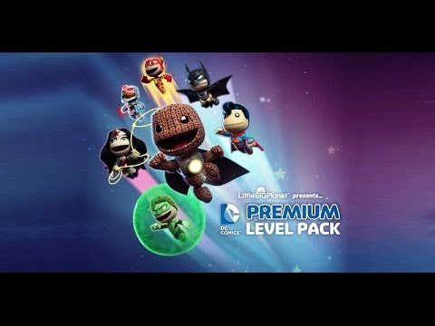 LittleBigPlanet™ 2 DC Comics Premium Level part 1 Русская версия (Russian)