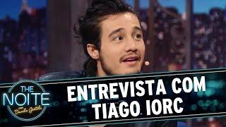 The Noite (01/04/16) Entrevista com Tiago Iorc