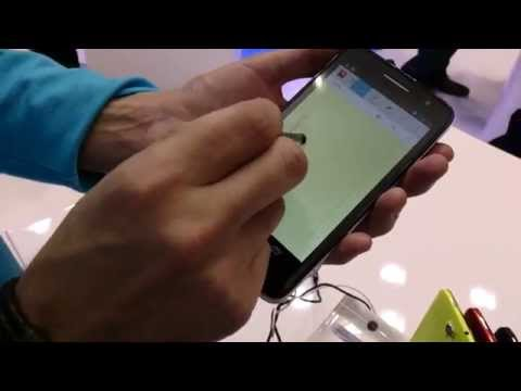 Alcatel One Touch Scribe HD at Mobile World Congress