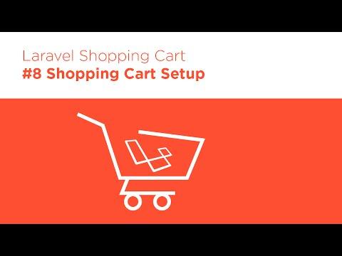 Laravel 5.2 PHP - Build A Shopping Cart - #8 Cart Model & Session Storage