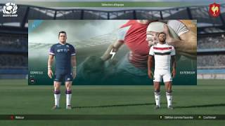 ECOSSE - FRANCE : Rugby 18