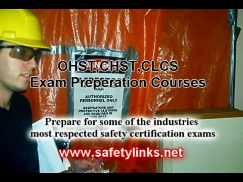 OHST, CHST, CLCS Exam Preparation Courses