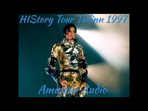 Michael Jackson - HIStory Tour Tallinn, Estonia August 22, 1997 - Full Amateur Audio