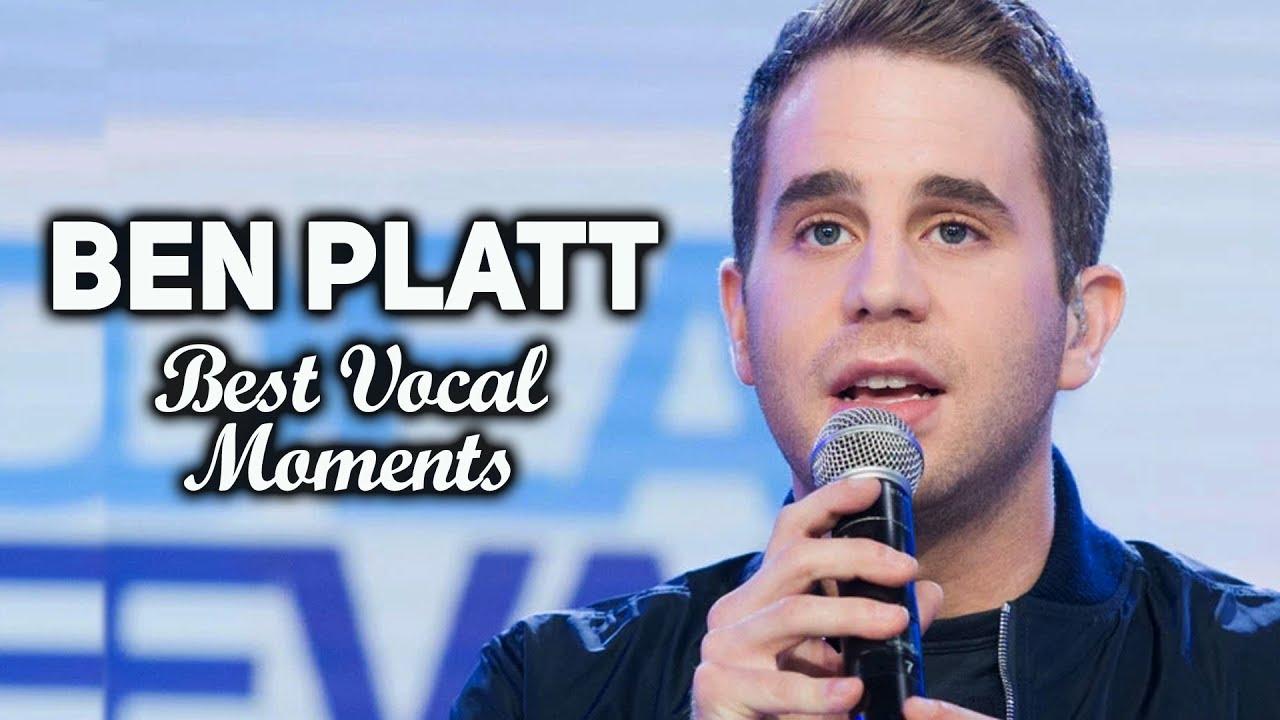 Ben Platt Tony Winner 2017 The Best Vocal Moments Pitch