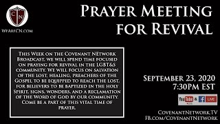 Prayer Meeting for Revival - the CNB