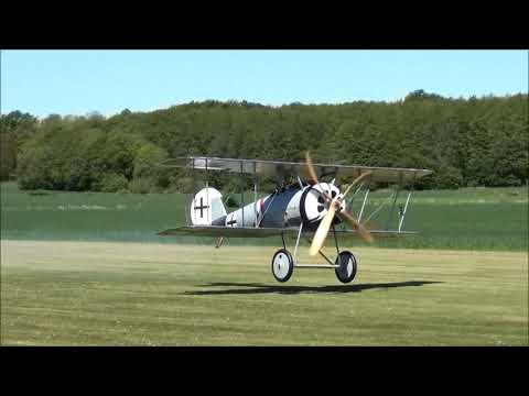 Mikael Carlson Pfalz D.VIII - Maiden Flight