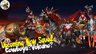NEW UPCOMING SQUAD AND FRANCO NEW SKIN SURVEY MOBILE LEGENDS NEW SQUAD HELL INSPECTOR SQUADS!