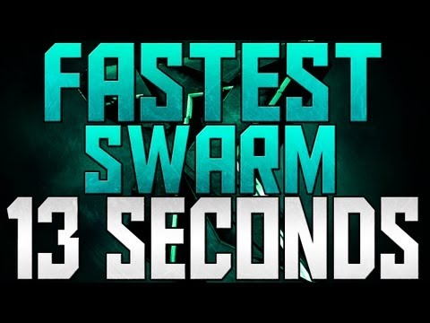 BO2 - WORLDS FASTEST SWARM - 13 SECONDS!