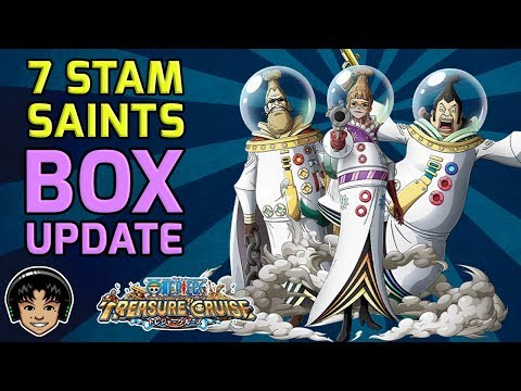 Dumb Box Update and 7 Stamina Saint Event! [One Piece Treasure Cruise]