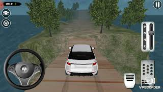Gameplay of 4x4 Jeep Sim Off-road game : Best mountains drift climb game screenshot 3