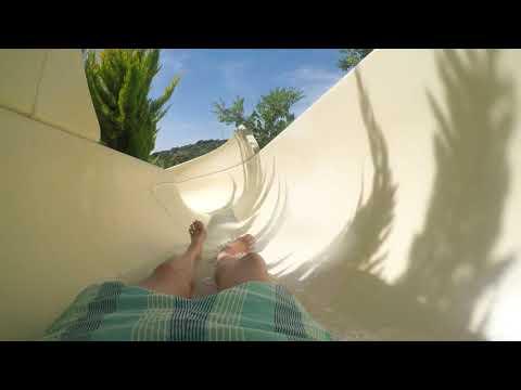 Zoo Marine Algarve. Aqua Tube & Body Slide 4K