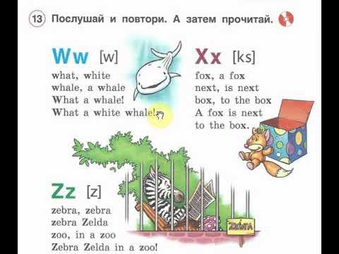 Изучаем английский язык. Словарный запас для 2 класса