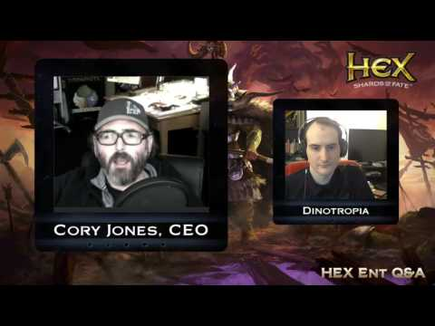 Hex TCG Q&A with Cory Jones, CEO