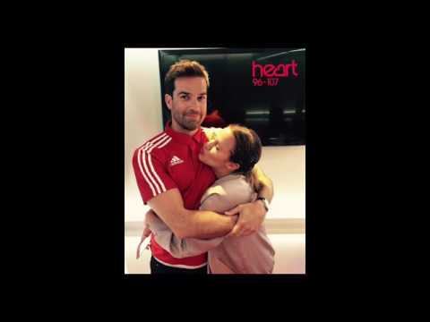 Caroline Flack and Gethin Jones radio show