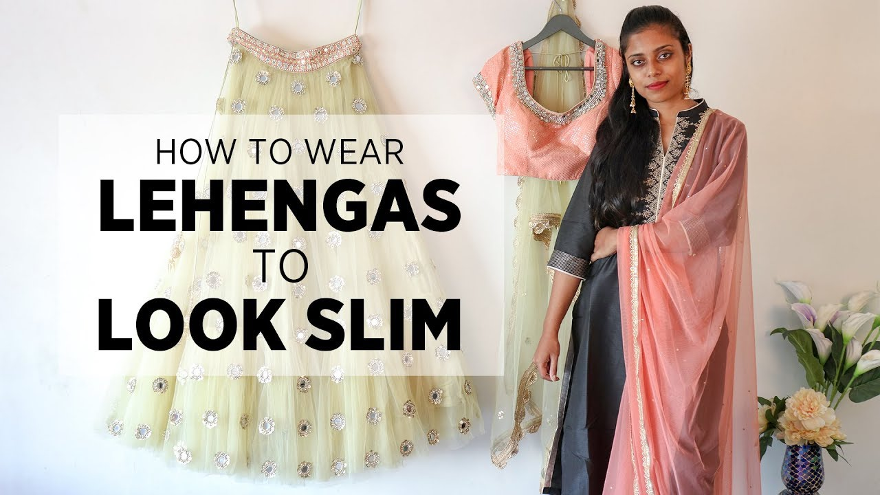 fc27efe38f How to Look Slim in A Lehenga | Types of Lehenga for Body Shapes ...