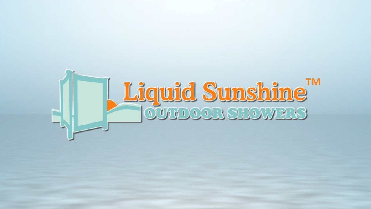 liquid sunshine outdoor shower enclosures
