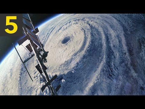 Top 5 Largest Hurricanes From Space
