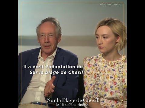 Sur la plage de Chesil - Ian McEwan et Saoirse Ronan