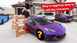 homepage tile video photo for Unboxing $10,000 Wheels for my New C8 Corvette!