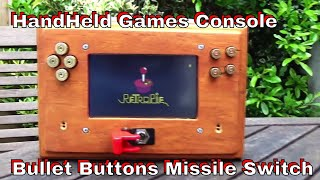 DuB-EnG: #DubiousEngineering DIY Wooden Handheld Games Console bullet buttons PT8 - Power Supply