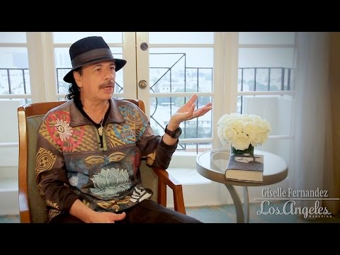 Carlos Santana is interviewed by Giselle Fernandez: Part 3 -
