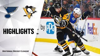 NHL Highlights | Blues @ Penguins 12/4/19